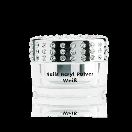 Acryl Pulver weiß 20 g