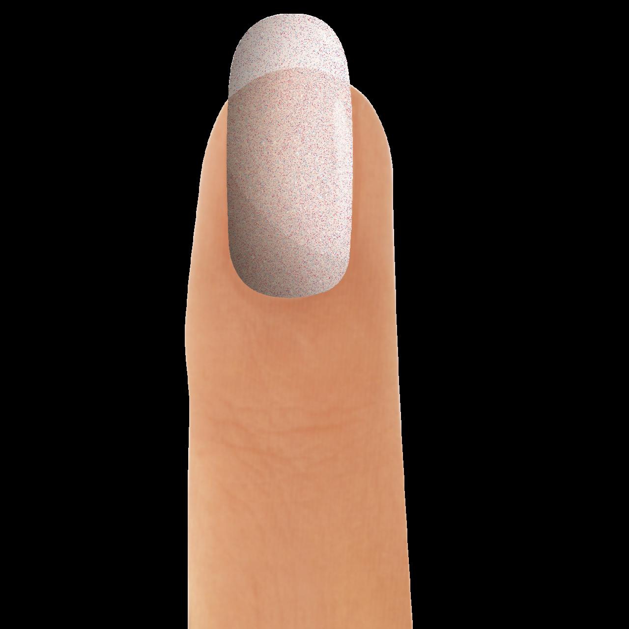 3in1 UV-Nagellack Glitter Pink Fine 12 ml