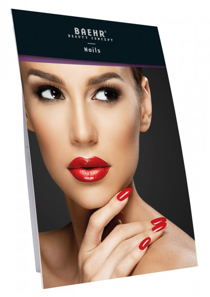 "BAEHR BEAUTY CONCEPT NAILS ""Plakataufsteller ""NAILS"" 48 x 68 cm"""