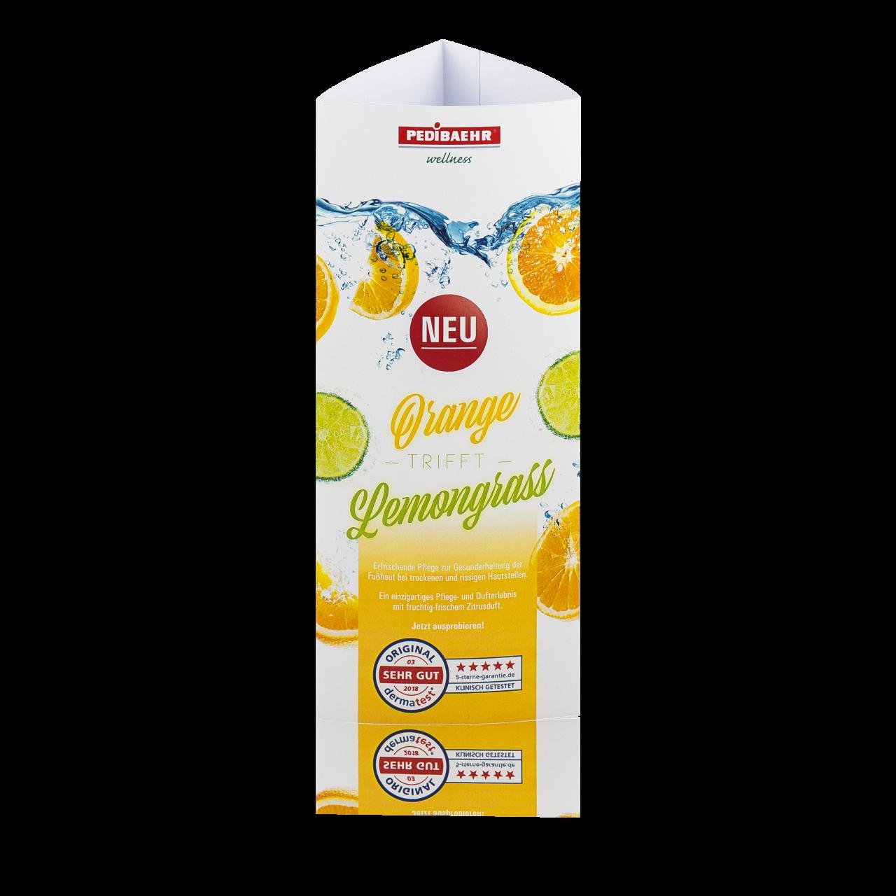 Prisma-Aufsteller Orange-Lemongrass