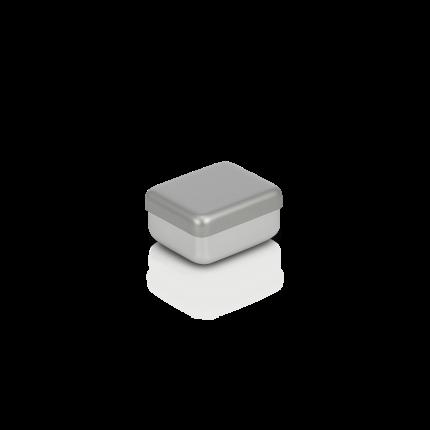 Aluminiumbox mit Deckel 50x40x30 mm