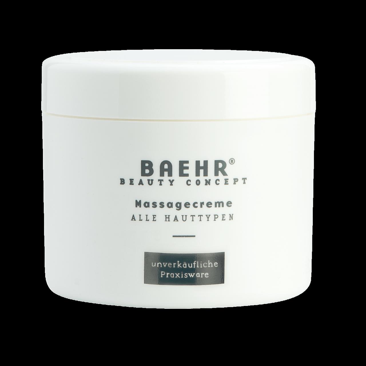 Massagecreme Tiegel 500 ml