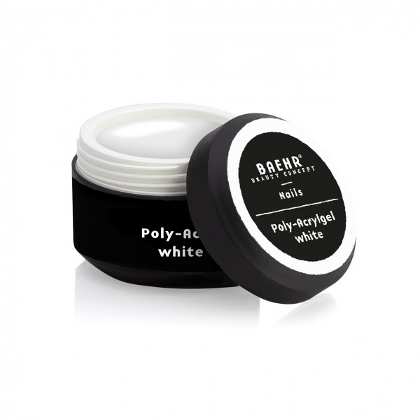 BAEHR BEAUTY CONCEPT - NAILS Poly-Acrylgel white 30 ml