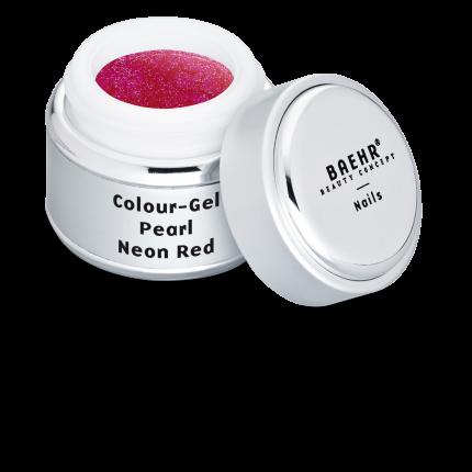 Colour-Gel Pearl Neon Red 5 ml