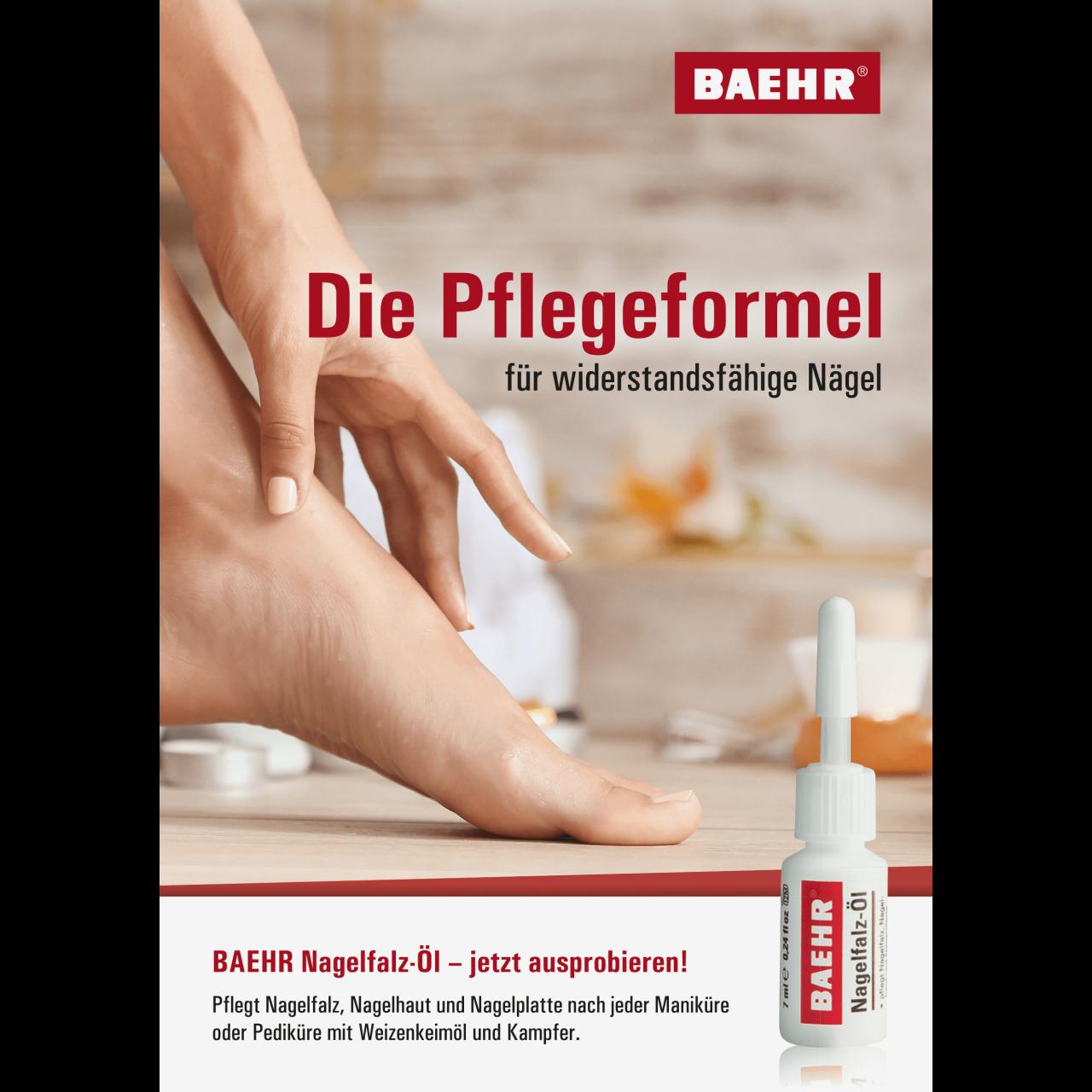 Poster BAEHR-Nagelfalz-Öl DIN A3 1 Stk.