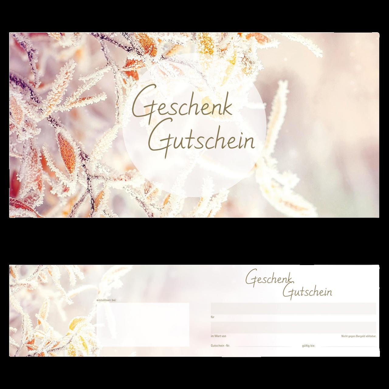 Gutschein Winter 25 Stk.