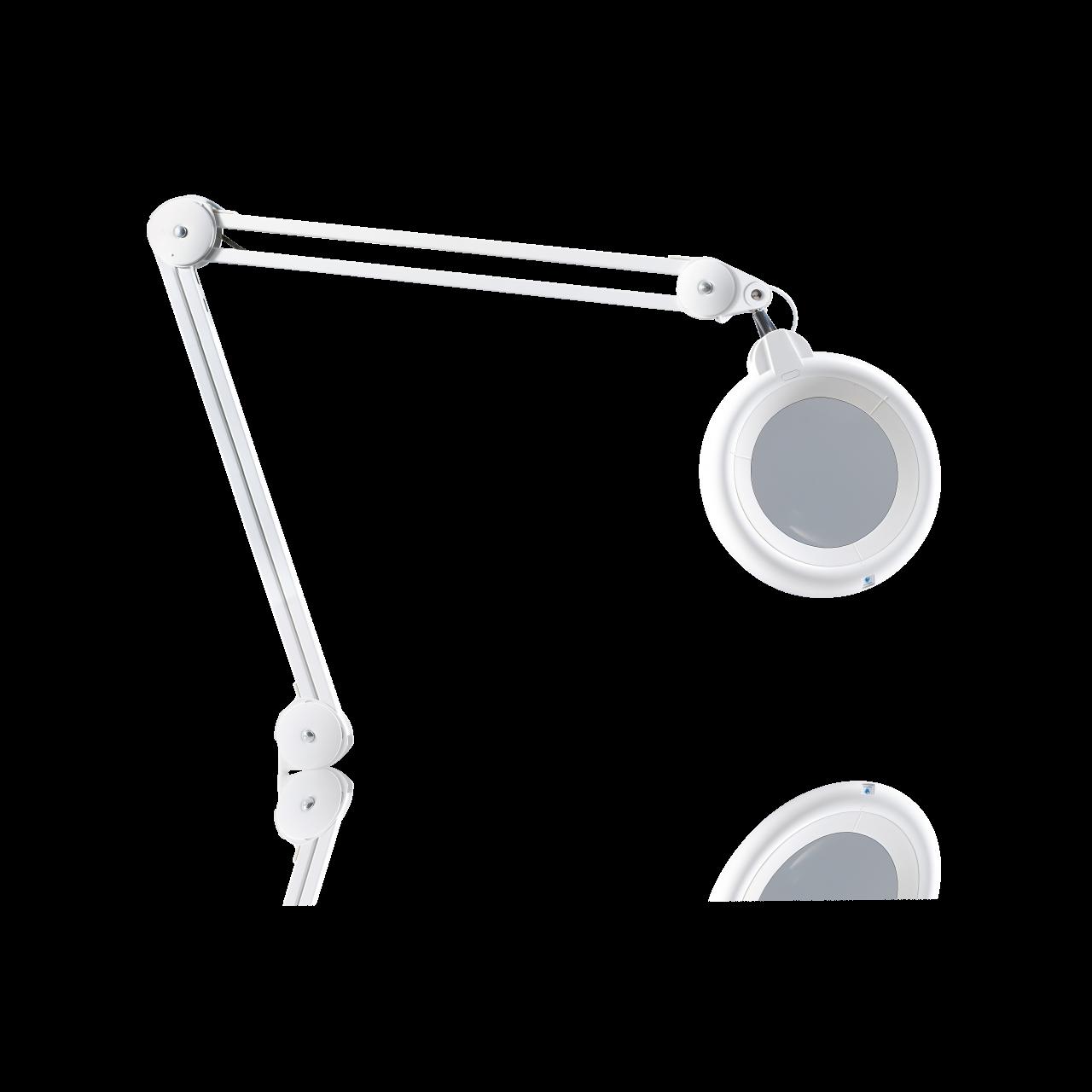 Leuchtlupe Slimline LED, weiss