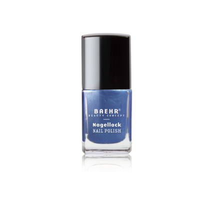 Nagellack navy blue metallic 11 ml