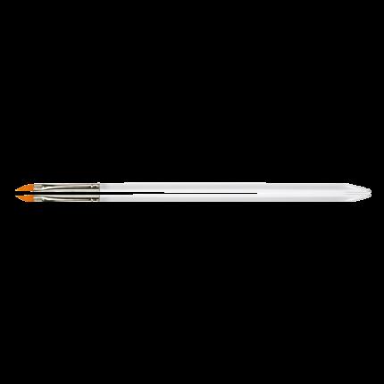 Gel-Modellage-Pinsel Gr.4 schräg/flach