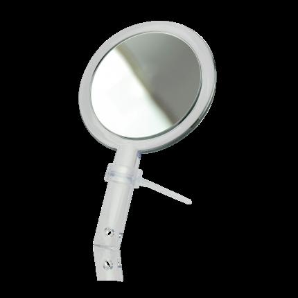 Hand- und Stellspiegel 10-fach Vergrößerung