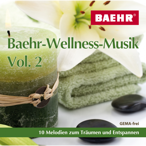BAEHR CD Baehr-Wellness-Musik Vol. 2