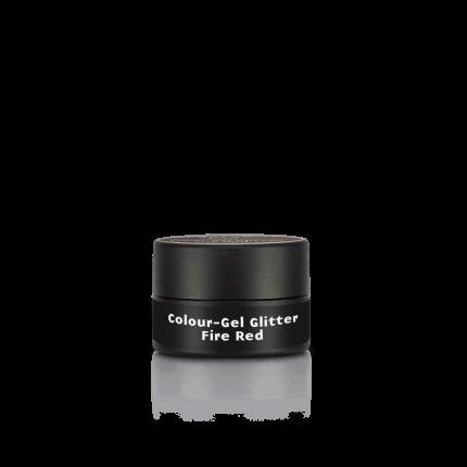 Colour-Gel Glitter Fire Red 5 ml