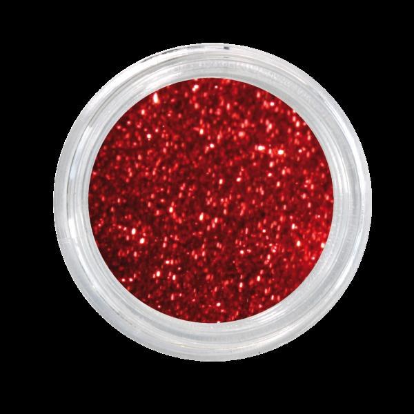 Nail Art Glitterpulver rot
