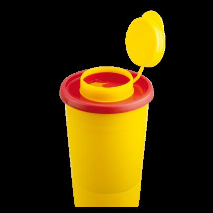 Entsorgungsbehälter für Klingen und Kanülen, Praxis