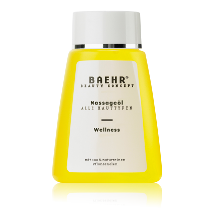 Massageöl Wellness Flasche 100 ml