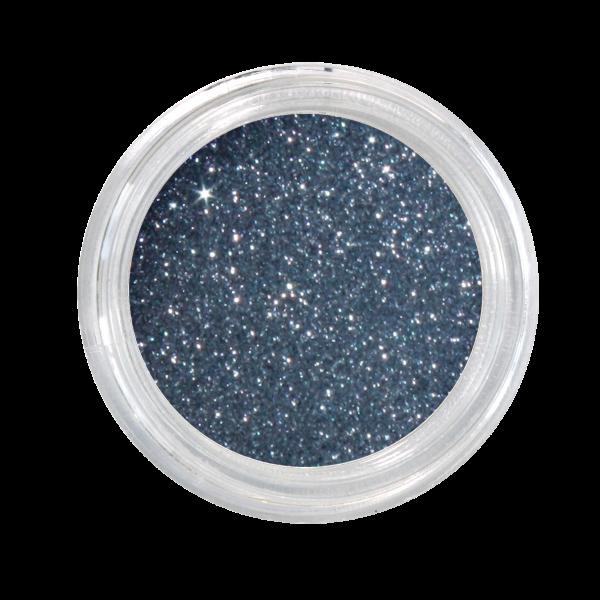 Nail Art Glitterpulver anthrazit