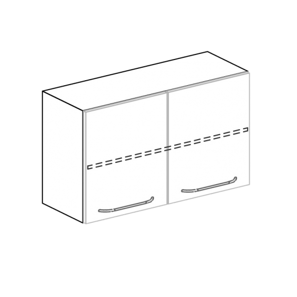 Hängeschrank für Hygienezeile Breite 100 cm