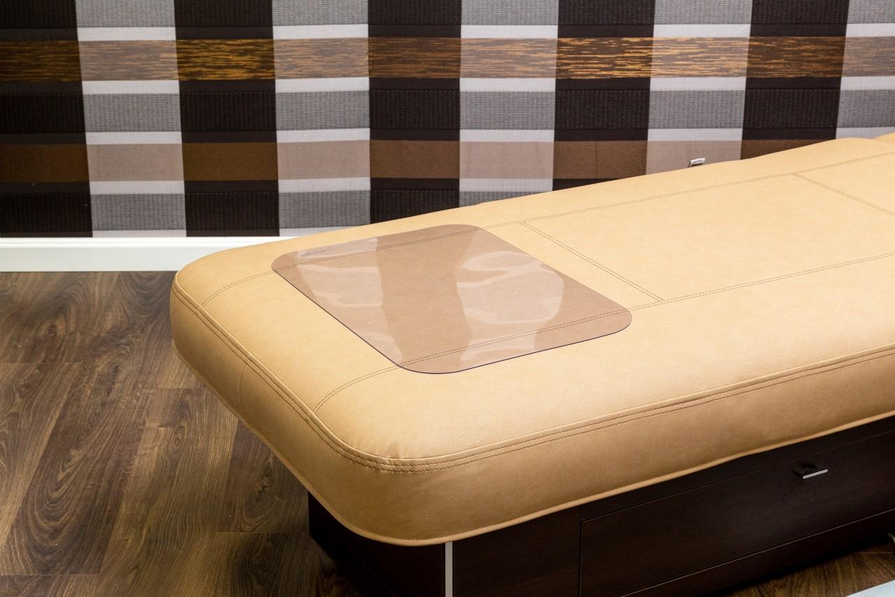 Klarsicht-Fußmatte aus Vinyl 600x400x2mm