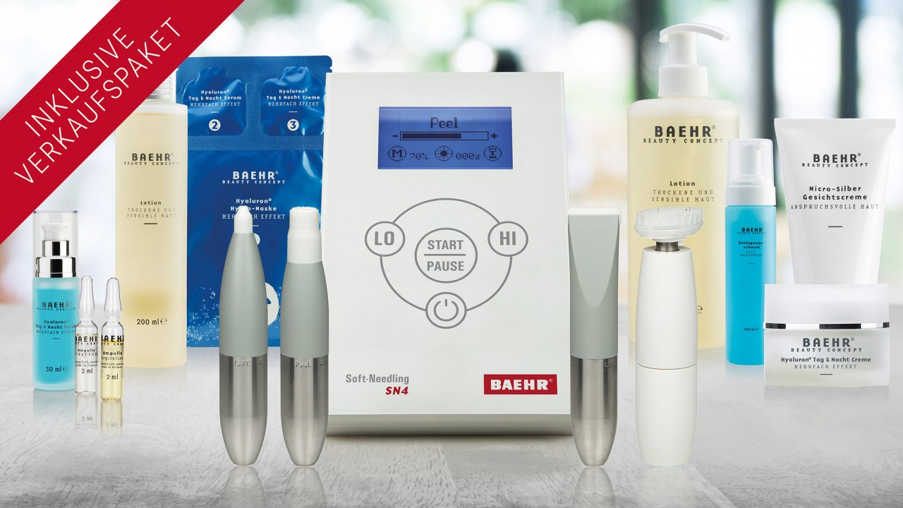 BAEHR Profi-Set Soft-Needling-Behandlungskonzept
