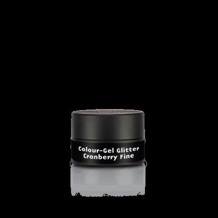 Colour-Gel Glitter Cranberry Fine 5 ml