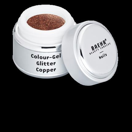 Colour-Gel Glitter Copper 5 ml