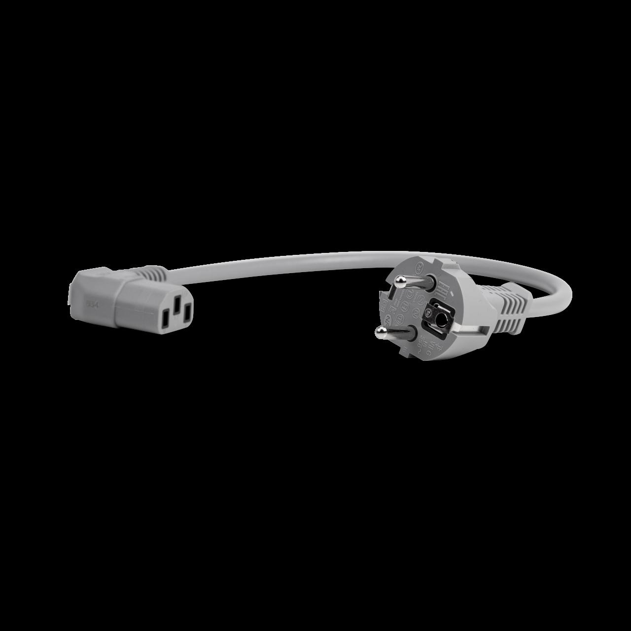 Netzkabel Koffer kurz für Baehr-Tec A700 (gerader Schuko-Stecker)