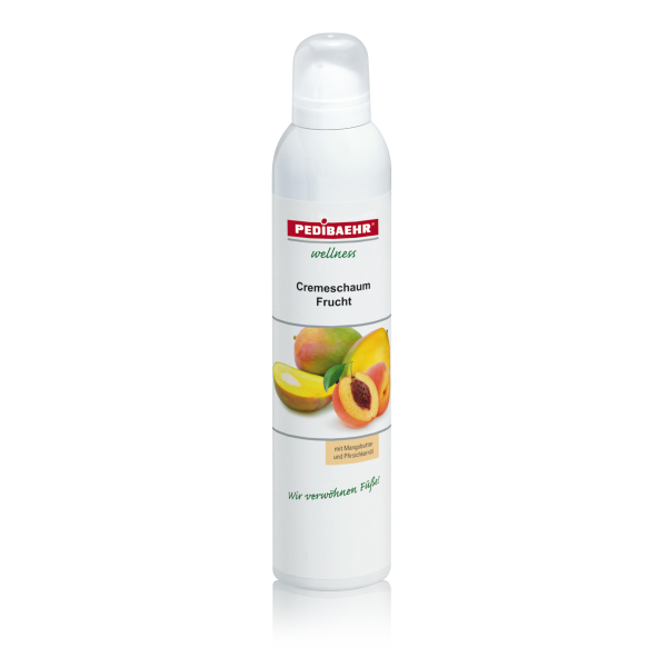 PEDIBAEHR Cremeschaum Frucht 300 ml