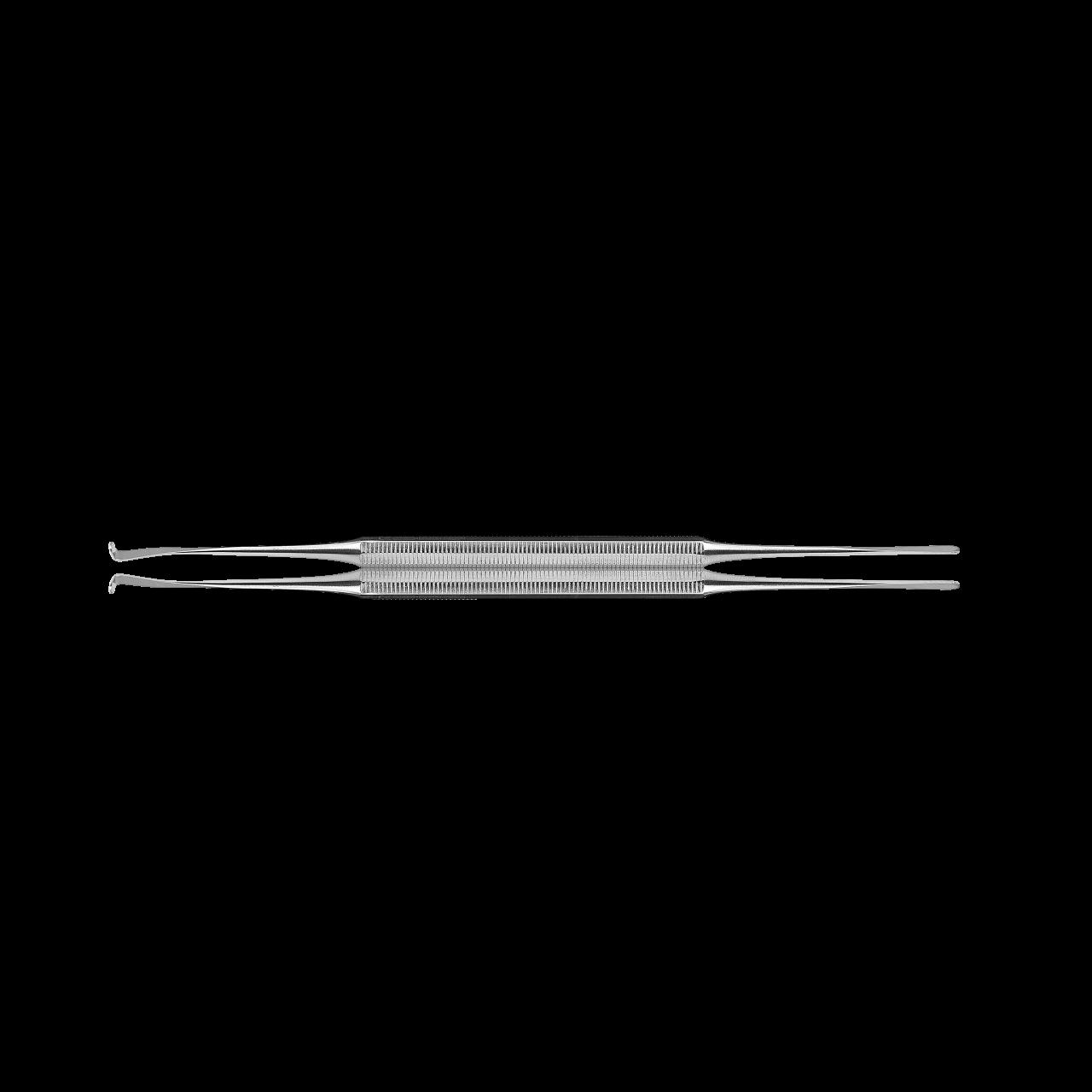 Doppelinstrument gerade/gebogen,16cm