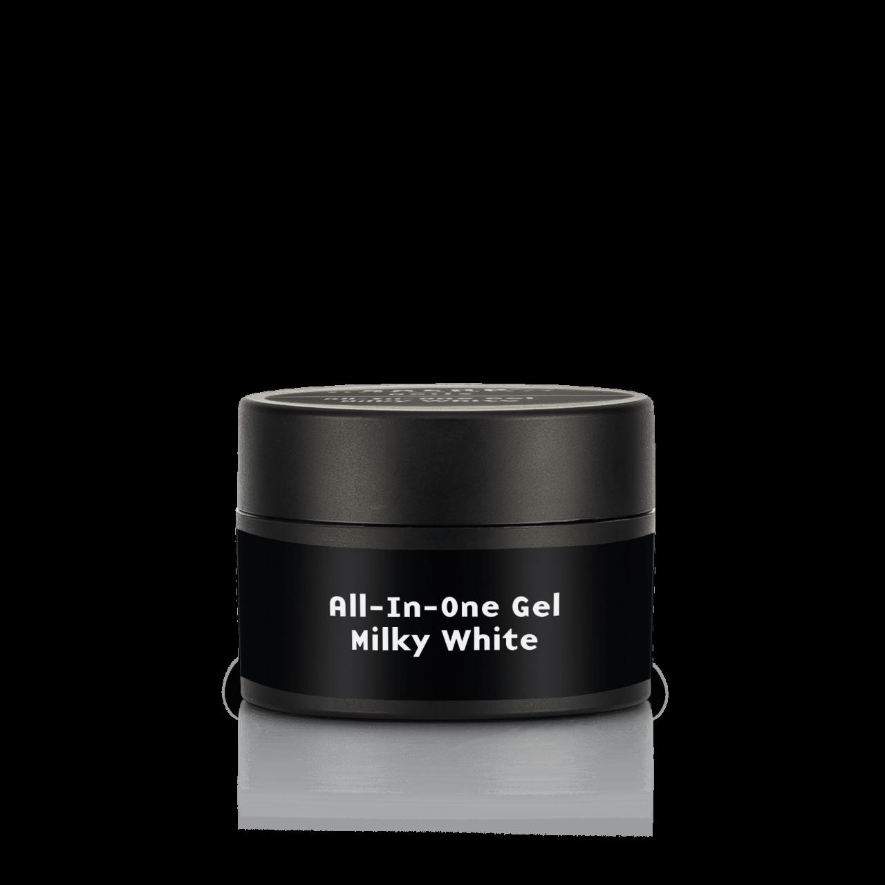 All-In-One Gel milky white,UV & LED 30 ml