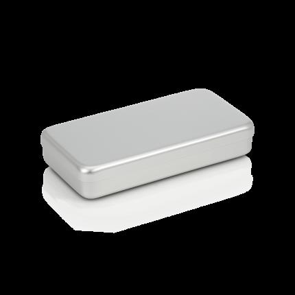 Aluminiumbox mit Deckel 180x90x30 mm
