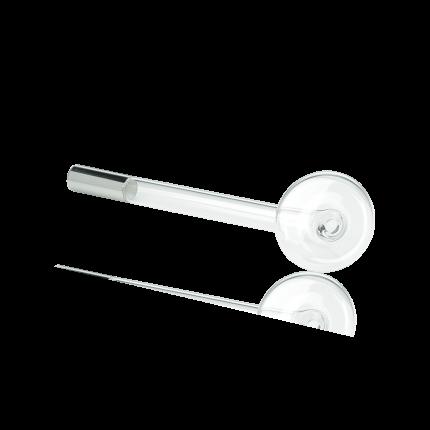 Pilzenelektrode (groß) Neon-Gas blau