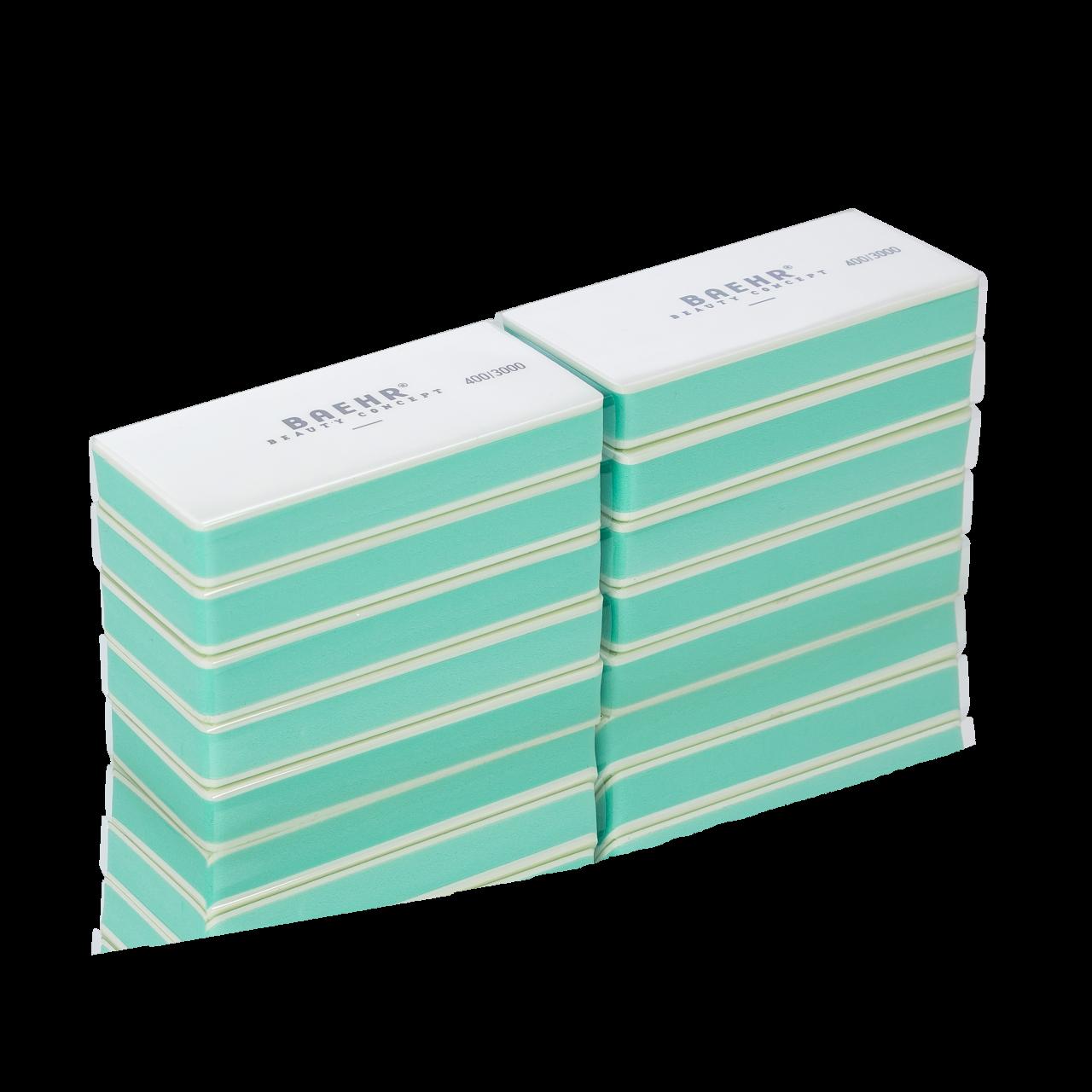 Sandwich Buffer mint/weiss Körnung 400/3000, 10 Stück