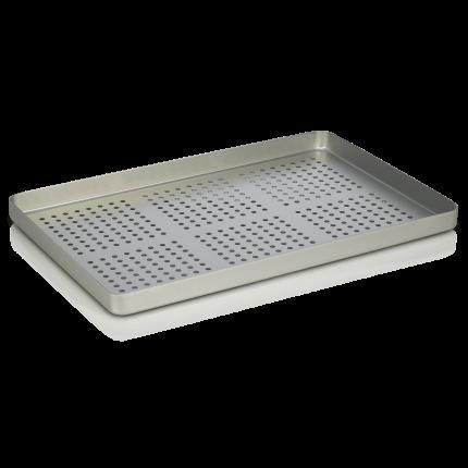 Instrumententablett Alu Lochblech für Fußpflegeschränke