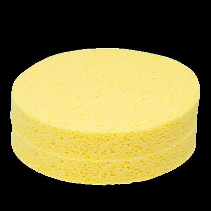 Kosmetikschwamm gelb (PVA) 1 Beutel (12 Stk.)