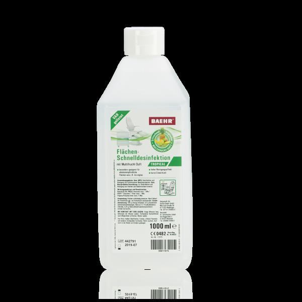 BAEHR Flächen-Schnelldesinfektion Tropical 1000 ml