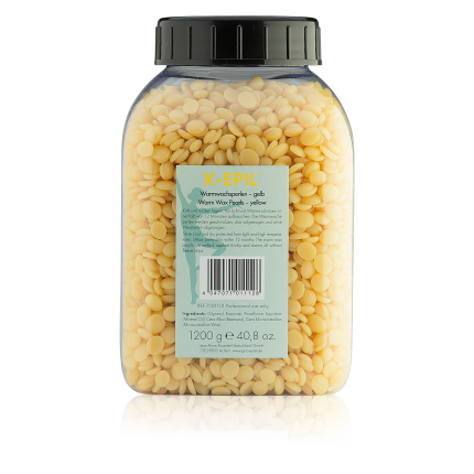 Warmwachs-Perlen gelb, Dose 1.200 g
