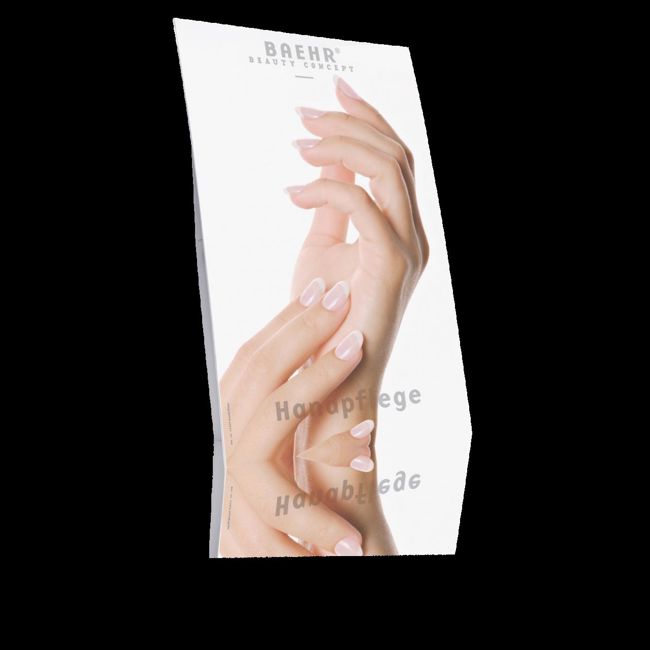 Plakataufsteller Handpflege