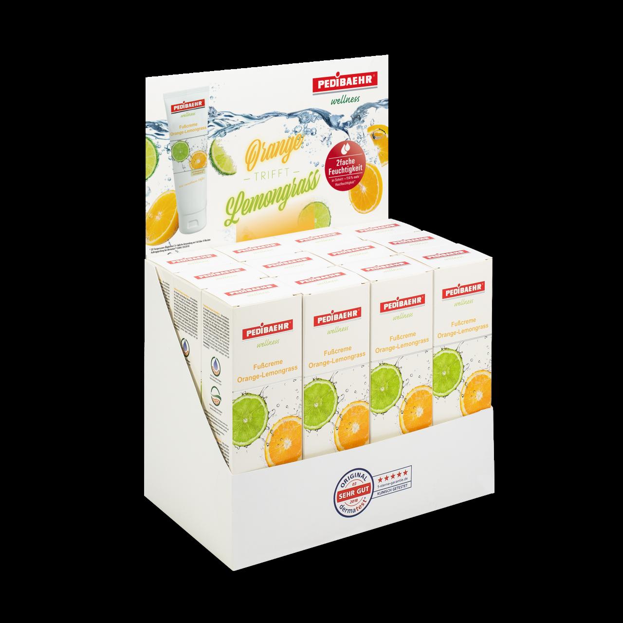 Aktionspaket Fußcreme Orange/Lemongrass 125 ml