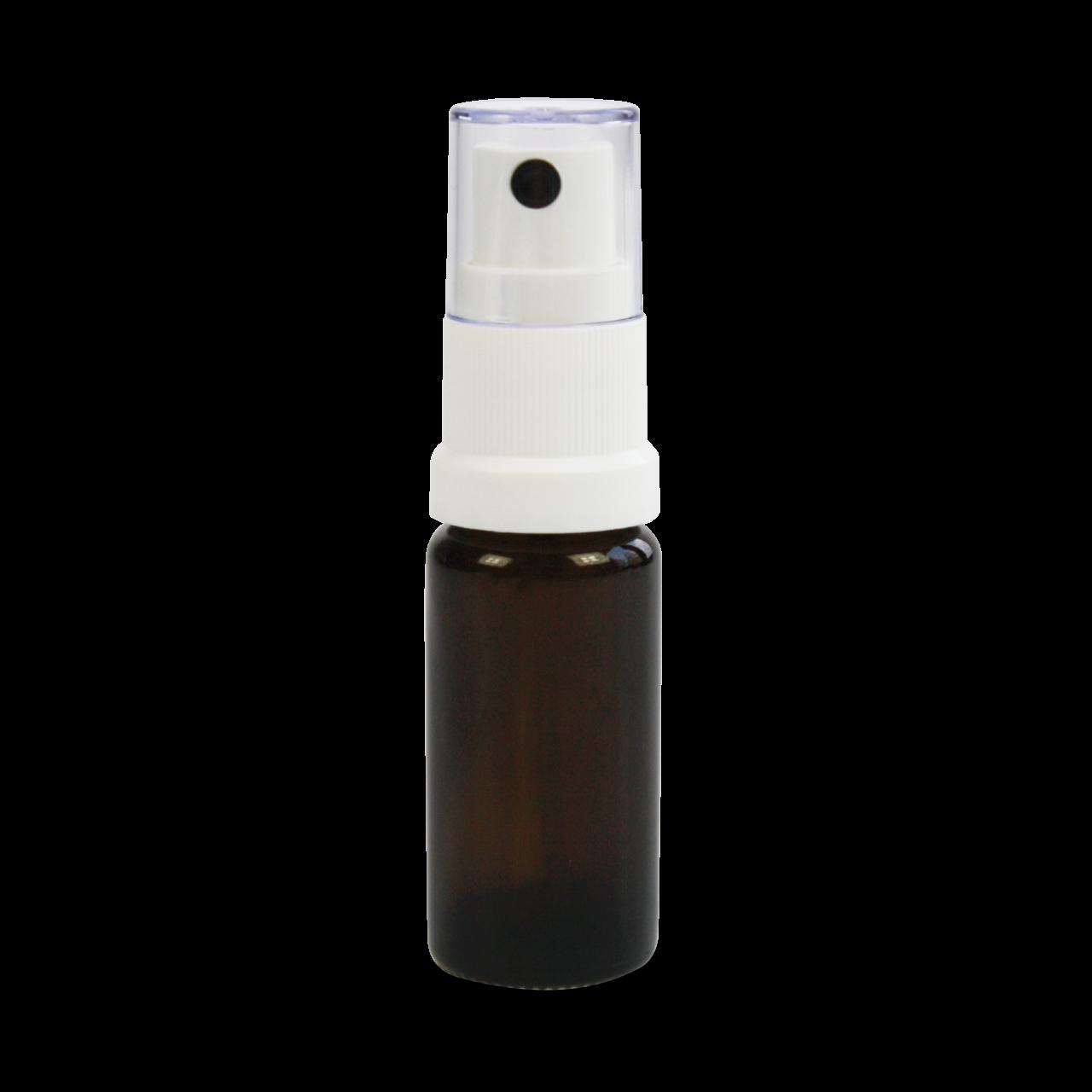 Braunglasflasche mit Zerstäuber für 10ml 1 Beutel (5 Stk.)