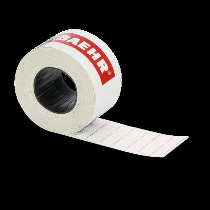 Ersatz-Etiketten (standard) zuBAEHR Auszeichnungsgerät Rolle mit 1000