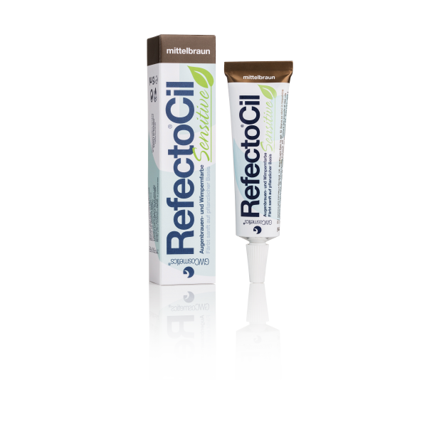 RefectoCil Wimpernfarbe Sensitive mittelbraun 15 ml
