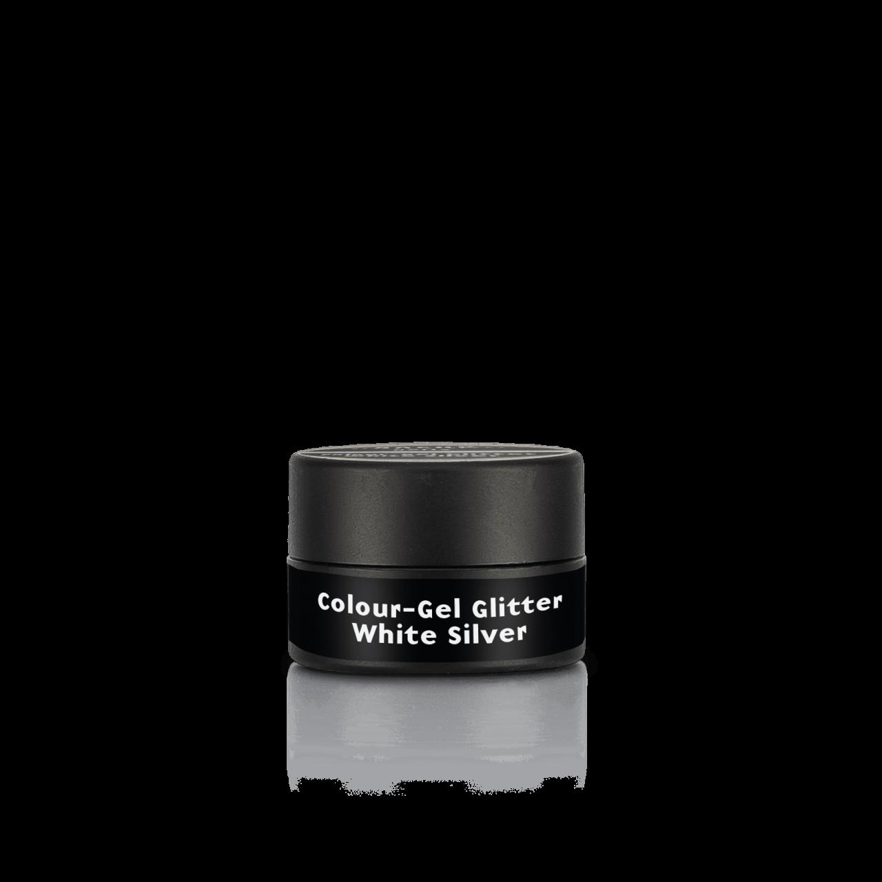 Colour-Gel Glitter White Silver 5 ml