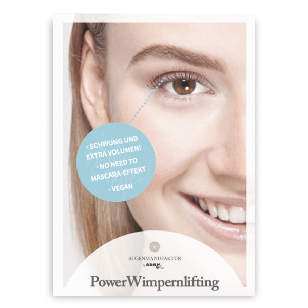 AUGENMANUFAKTUR Wimpernlifting Flyer A6