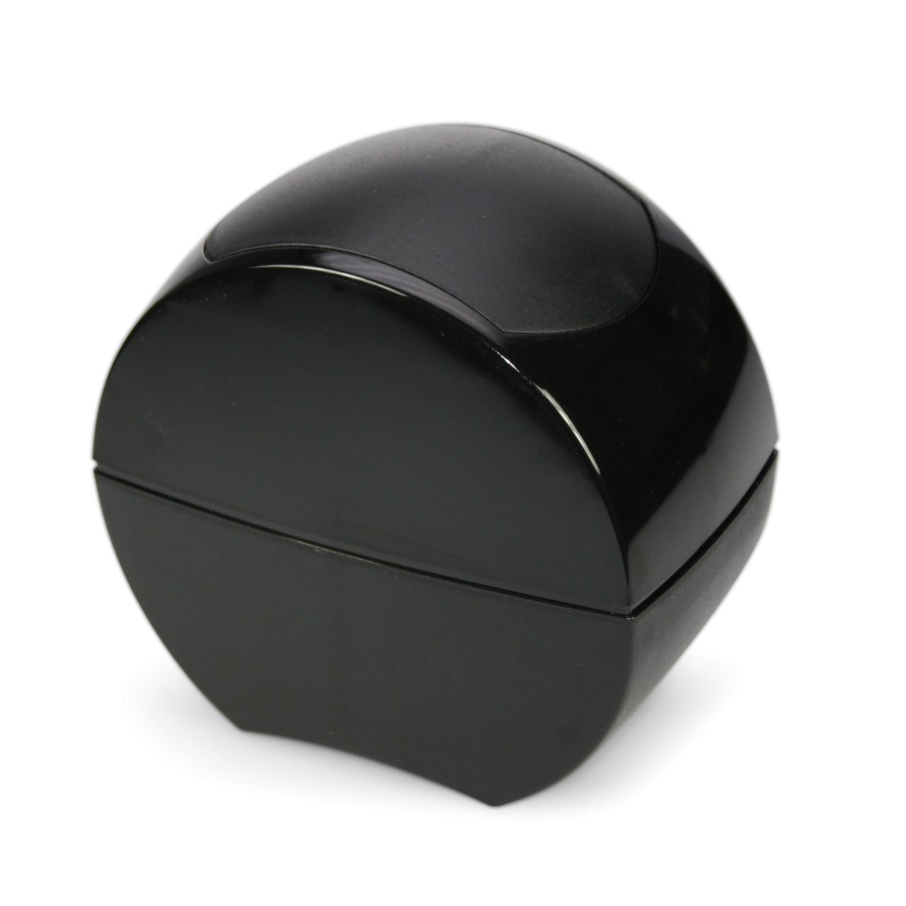 Tischabfallbehälter aus Kunststoff schwarz