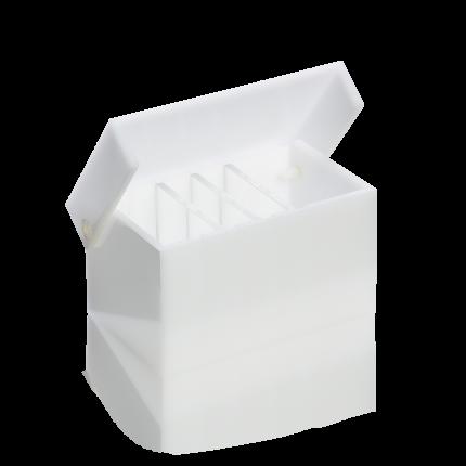 Vliestamponaden-Behälter, klein, leer