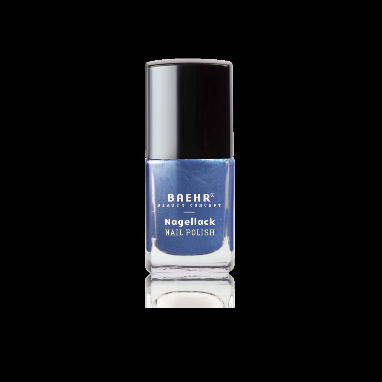 Nagellack navy blue metallic 11 ml