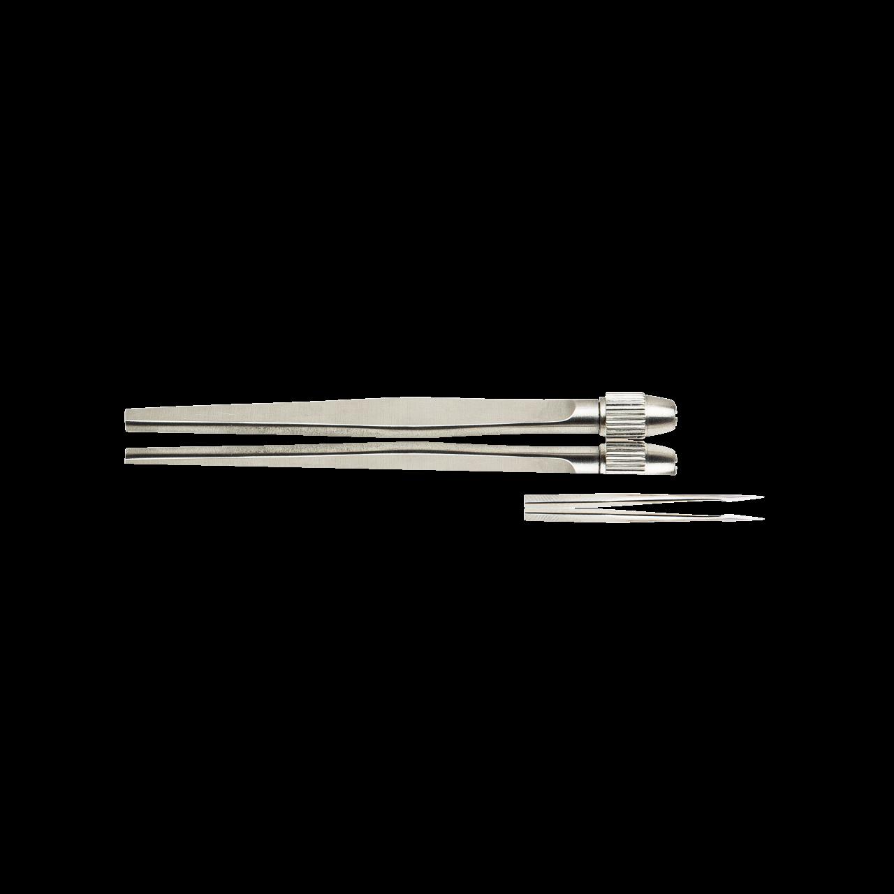 Milienmesser komplett, Messer + Halter 12,5cm, rostfrei