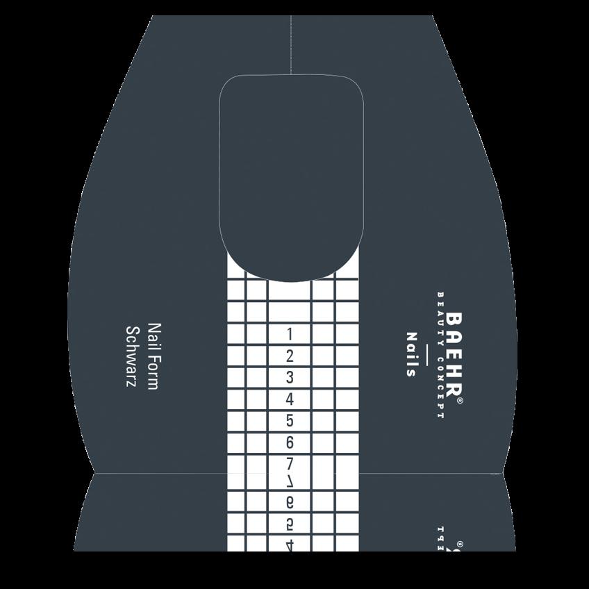 Papierschablonen Schwarz 1 Rolle (500 Stk.)