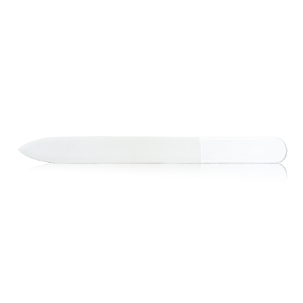 Glasnagelfeile ohne Dekor 2-seitig, 9 cm