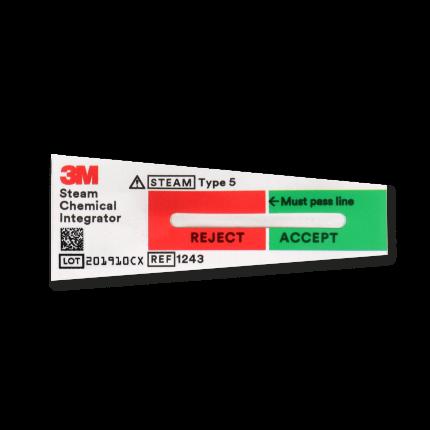 3M ComplyTM SteriGage Teststreifen für Autoklaven, Pck a 100 Stk
